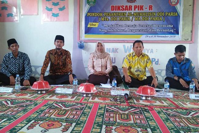 Pondok Pesantren DDI Al-Mukhlisin Paria Gelar Konseling Remaja
