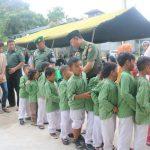 Danpusterad Resmikan Masjid Al-Ikhlas, Santuni Anak Yatim