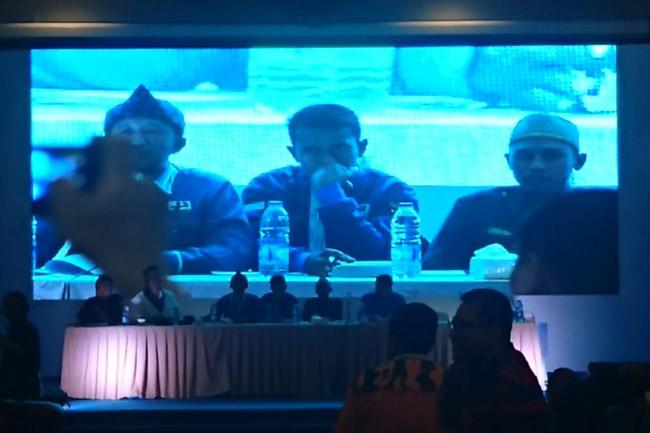 Haris Pertama Ditetapkan Presidium Sidang Sebagai Ketua Umum KNPI