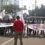 Massa Aksi Bela Rakyat Gorontalo Utara Kembali Geruduk Kantor PT Toba Bara Sejahtera