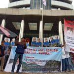 Aksi Jilid III Praktisi Bursel: Tangkap Bupati Buru Selatan